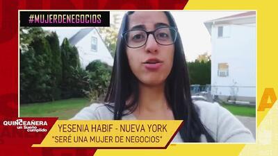 Yesenia Habif sueña con estudiar finanzas y tiene el mejor ejemplo de fortaleza de su madre que venció el cáncer