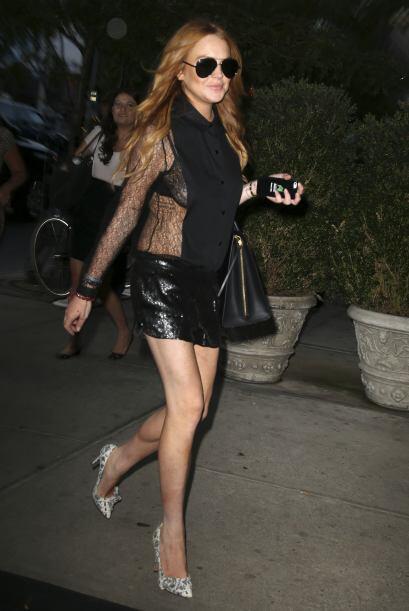 Además, de demostrar que es toda una amante de la moda y siempre elige p...