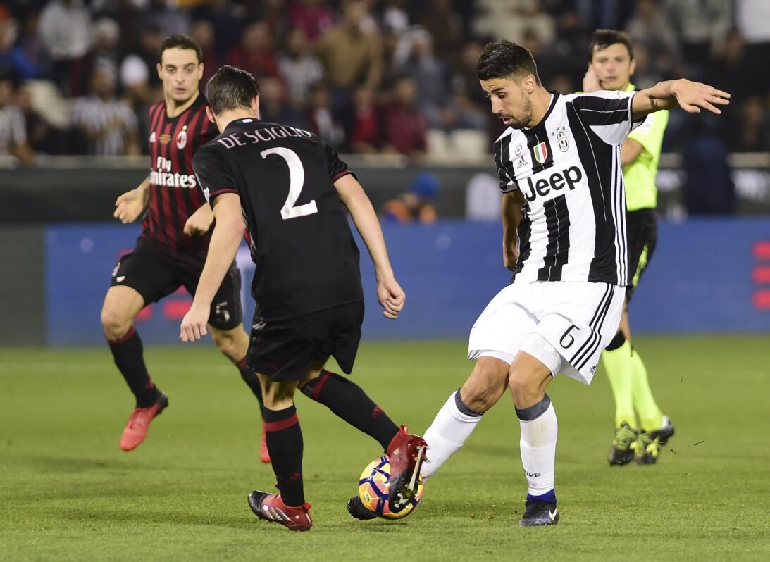 La Juve consiguió el primer título del triplete que pretende esta tempor...