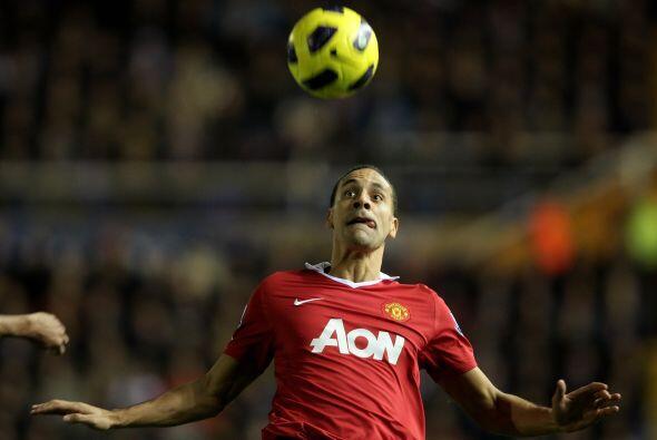 El 'Man-U' parecía dispuesto a aguantar el triunfo con ese único gol.