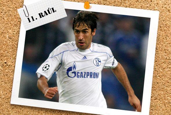 Y no podía faltar Raúl González, quien con dos goles ante el Hapoel alca...