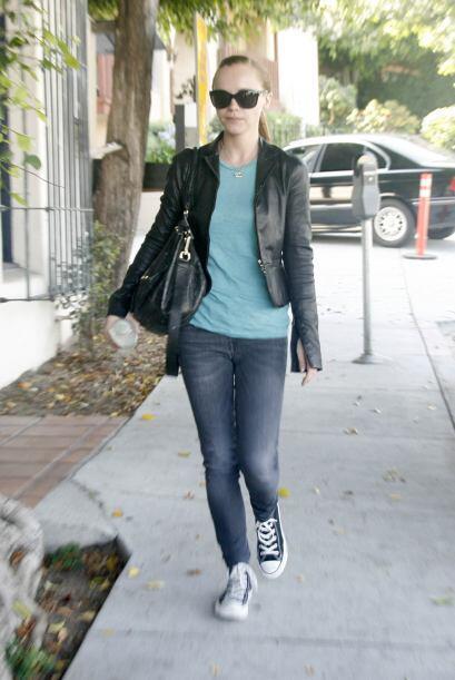La actriz Christina Ricci aumentó mucho durante su embarazo, pero rápida...
