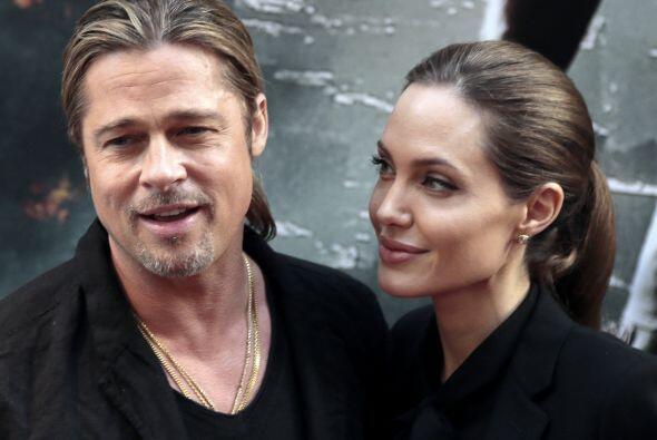 Brad Pitt y Angelina JolieSe conocieron durante el rodaje de Mr. and Mrs...