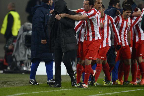 El hombre del Atlético de Madrid es uno de los consentidos de Diego Sime...