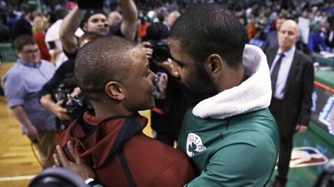 Isaiah Thomas y Kyrie Irving fueron intercambiados para esta temporada e...