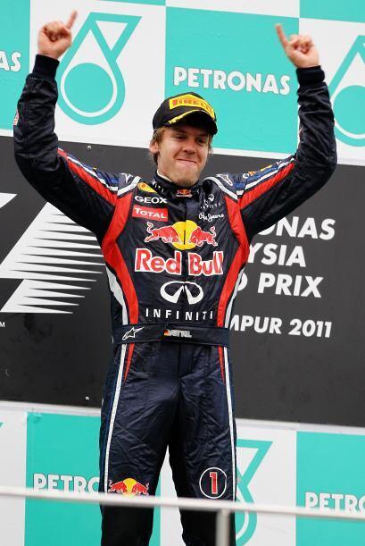 A pesar de la alegría, Vettel reconoció que todavía...