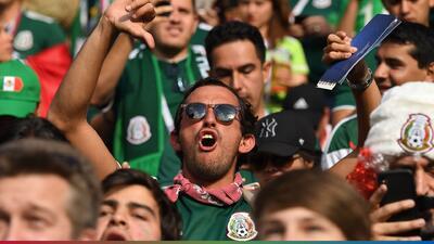 """El grito de """"eeeehhh p..."""" pone en aprietos nuevamente a los mexicanos"""