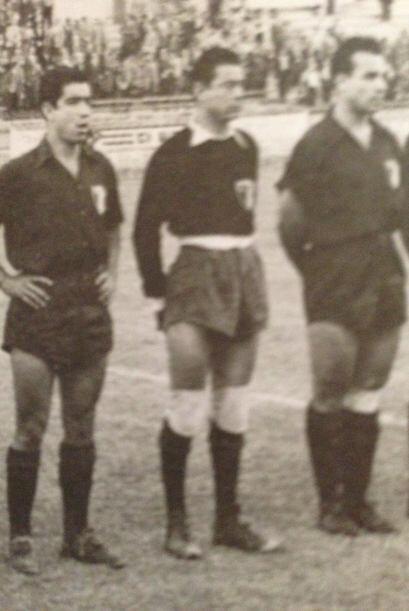 Salvador Mota (1954).- El arquero del Atlante jugó ante Brasil en el deb...