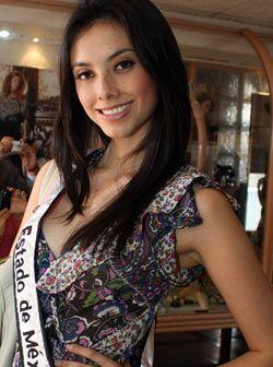 Nuestra Belleza Estado de México, Mercedes Gutiérrez Mares.