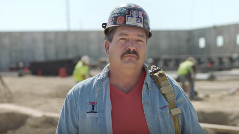 Paul Ryan challenger Randy Bryce in his campaign launch video ad.