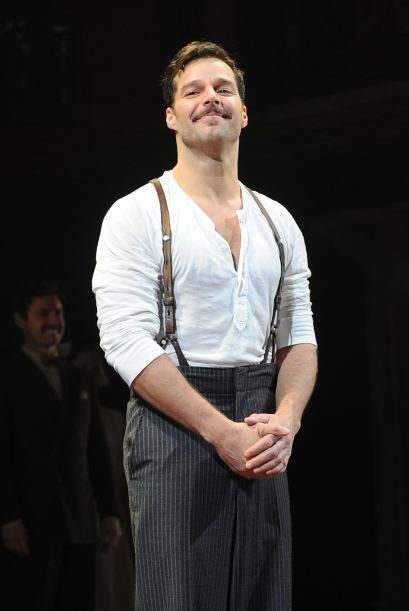 El cantante conquistó Broadway en su regreso a los escenarios teatrales...