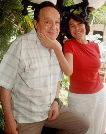 Florinda Meza y 'Chespirito'