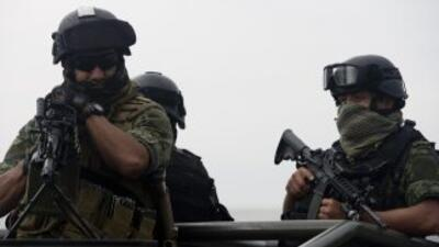 Militares en Tamaulipas.