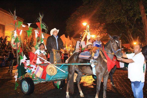 En el municipio de Atlixco se llevó a cabo la Tradicional Cabalgata en l...