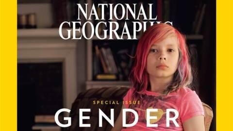 La portada, en la que aparece la activista Avery Jackson, de nueve a&nti...