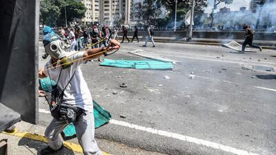 Venezuela arde entre protestas