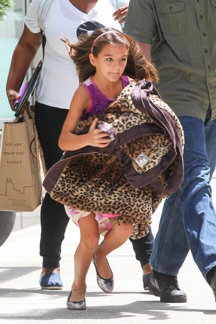 Mira cómo ha crecido la hija de Tom Cruise y Katie Holmes, Suri Cruise G...