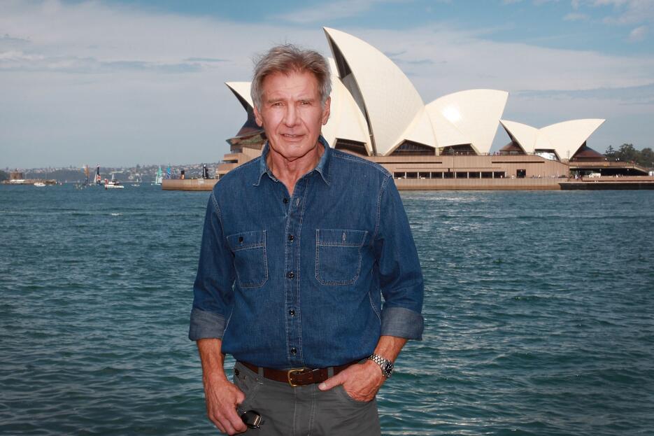 Harrison Ford promovió la película en Australia.