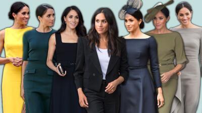 Todos y cada uno de los looks de Meghan Markle desde que empezó a codearse con la realeza