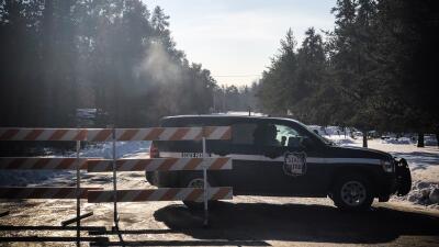 Tres patrullas de la Policía pasaron junto al vehículo donde llevaban secuestrada a Jayme Closs