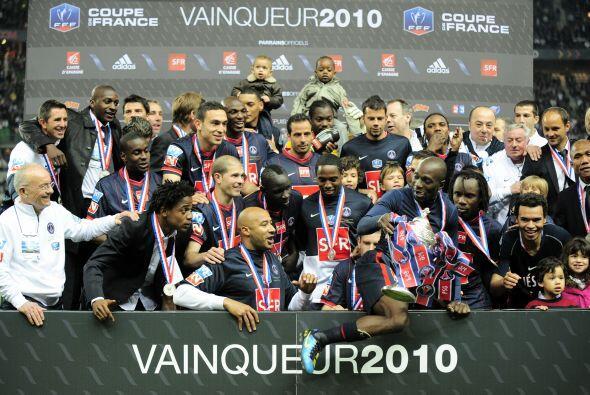 La Copa gala se la llevó el París Saint-Germain, que no tuvo su mejor pa...