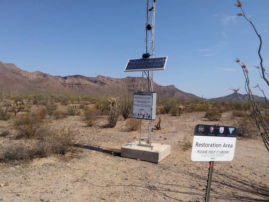 En fotos: Voluntarios salen al desierto en busca migrantes desaparecidos...
