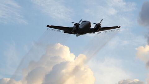 Este jueves se realizaría una fumigación aérea contra mosquitos en gran...