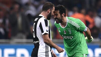 En fotos: Juventus le remontó al Inter y le mete presión al Napoli en la Serie A