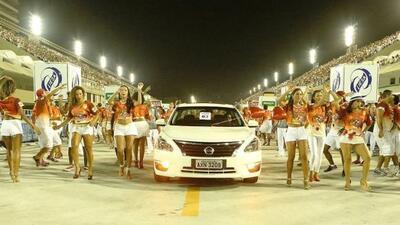 Nissan será parte del Carnaval de Río de Janeiro 2014.