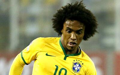 """Willian, de Brasil, confía en la Argentina: """"Tiene grandes chances de cl..."""