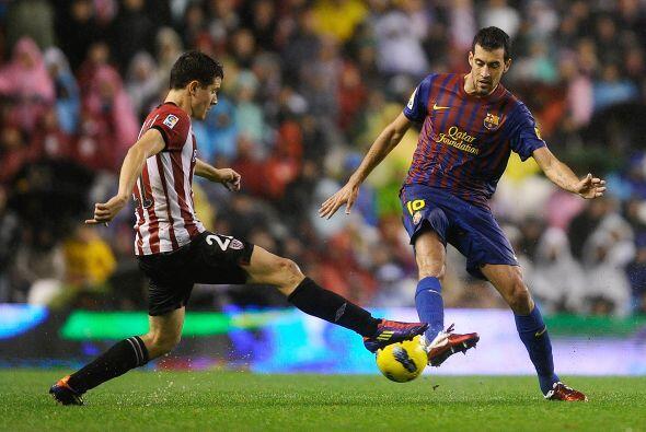 Herrera metió gol en el gran partido entre su equipo Athletic de Bilbao...
