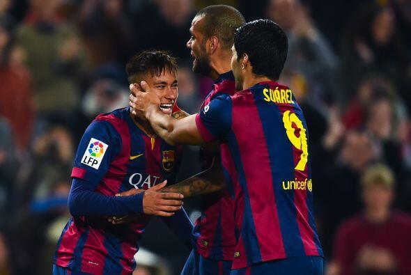 Por si fuera poco nuevamente Neymar anotó un gol más para cerrar la cuen...