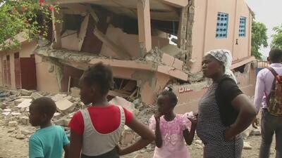 Image result for Terremoto magnitud 5.9 grados dejo 12 muertos en haiti
