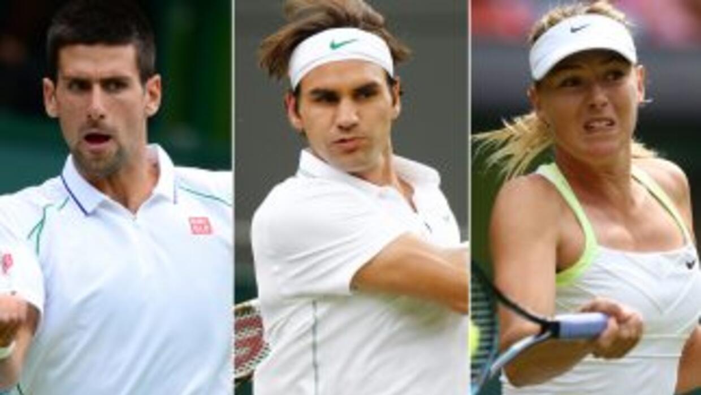 Tanto Djokovic como Federer salieron triunfales en su debut, al igual qu...