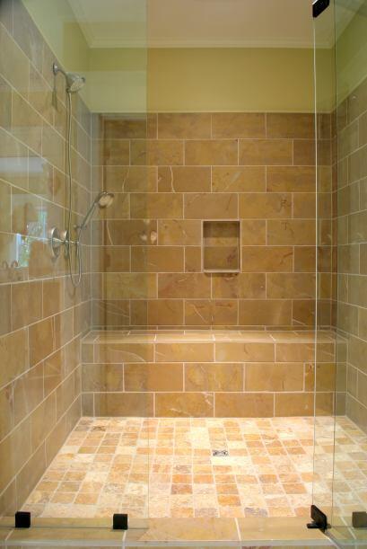 Un nicho en la ducha. A la hora de diseñar tu baño, procur...