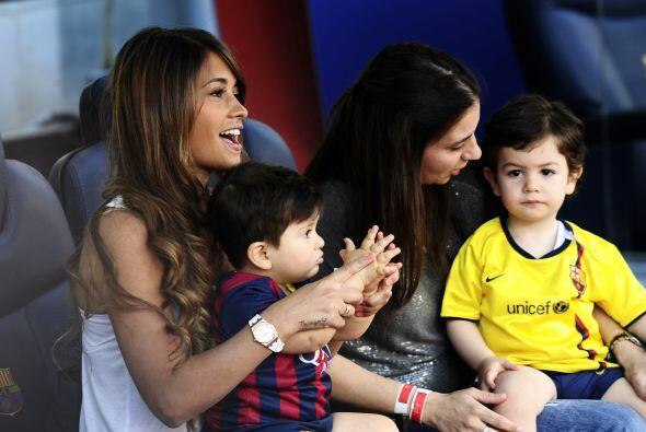 La mujer del mejor futbolista de la actualidad decidió llevar al pequeño...