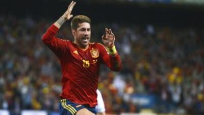 Ramos alcanzará el centenar de encuentros con 'La Roja'.