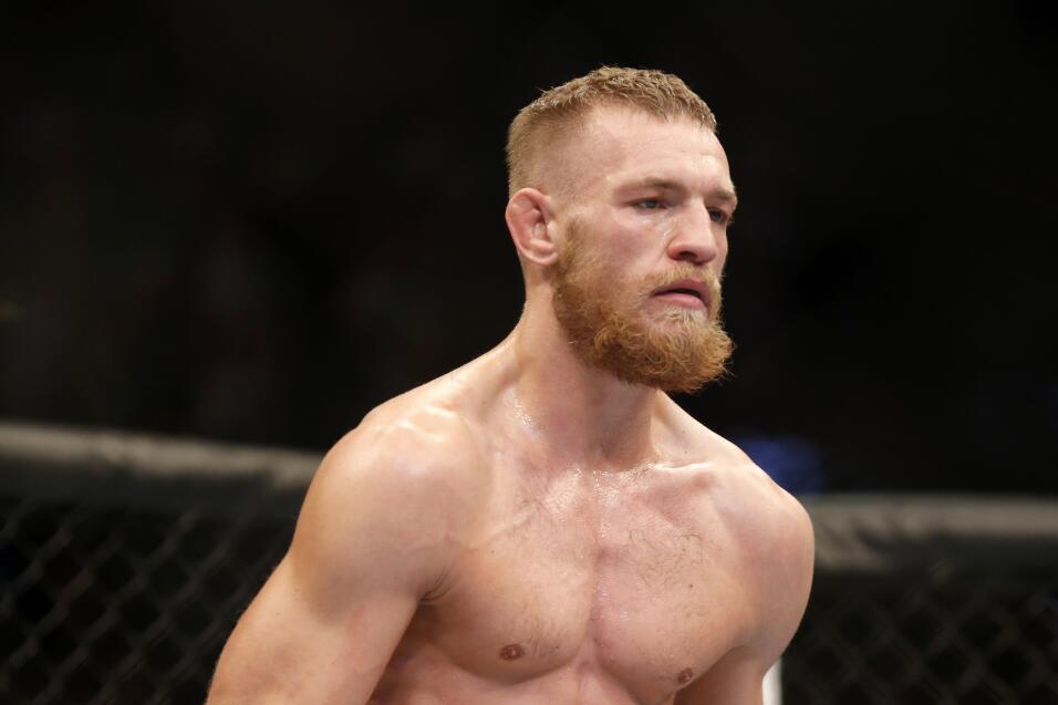 Conor McGregor ha sido puesto bajo custodia por la policía de Nueva York...