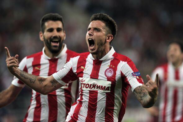 Olympiakos acabó derrotando 3-1 al Montpellier y de paso eliminó a los f...