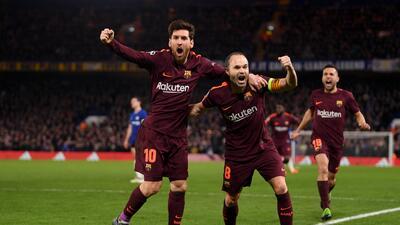 En fotos: Barcelona se llevó un empate de su visita al Chelsea por la ida en los octavos de Champions League