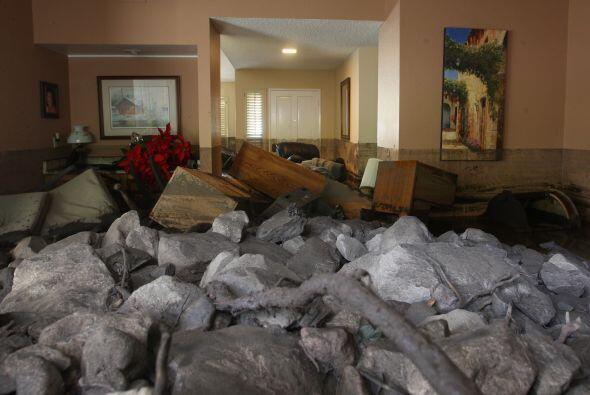 Saldo de la tormenta #PineappleExpress en las últimas 24 horas en...