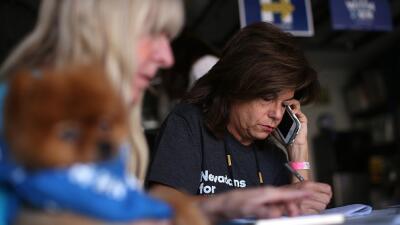 Voluntarias hispanas en Nevada