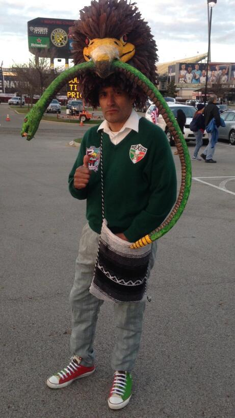 El águila mexicana deborando a la serpiente. Imagen tradicional.