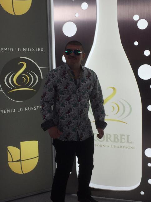El Turky en la alfombra de Premio Lo Nuestro