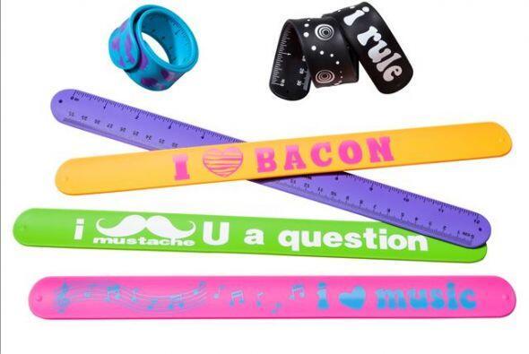 ¡Mira estas Slap Ruler Bracelets! Te ayudarán durante tus tareas y puede...
