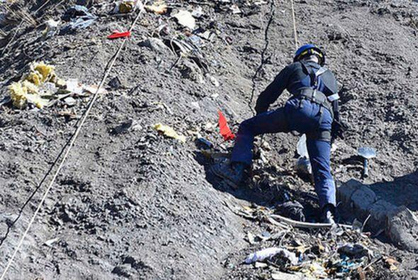 Mathieu Subé, vecino de la localidad donde se impactó la aeronave, afirm...