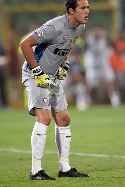 El arquero del Inter de Milán fue pilar para el primer triunfo de su clu...
