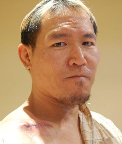Okumura....  El japonés ingresó no sólo por su reciente rivalidad frente...