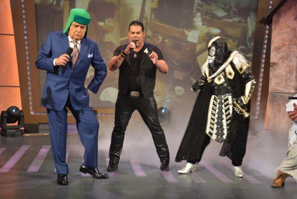 Claro, uno que otro cantante sí puso a bailar a este temido personaje.