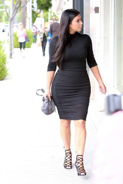 Como lo hizo en su primer embarazo, la Kardashian no se ha bajado de las...